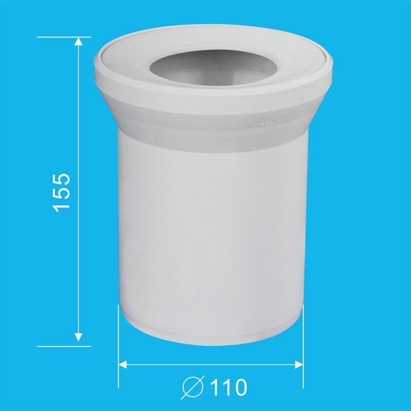 Toilet connection tube | Sanitary trade company