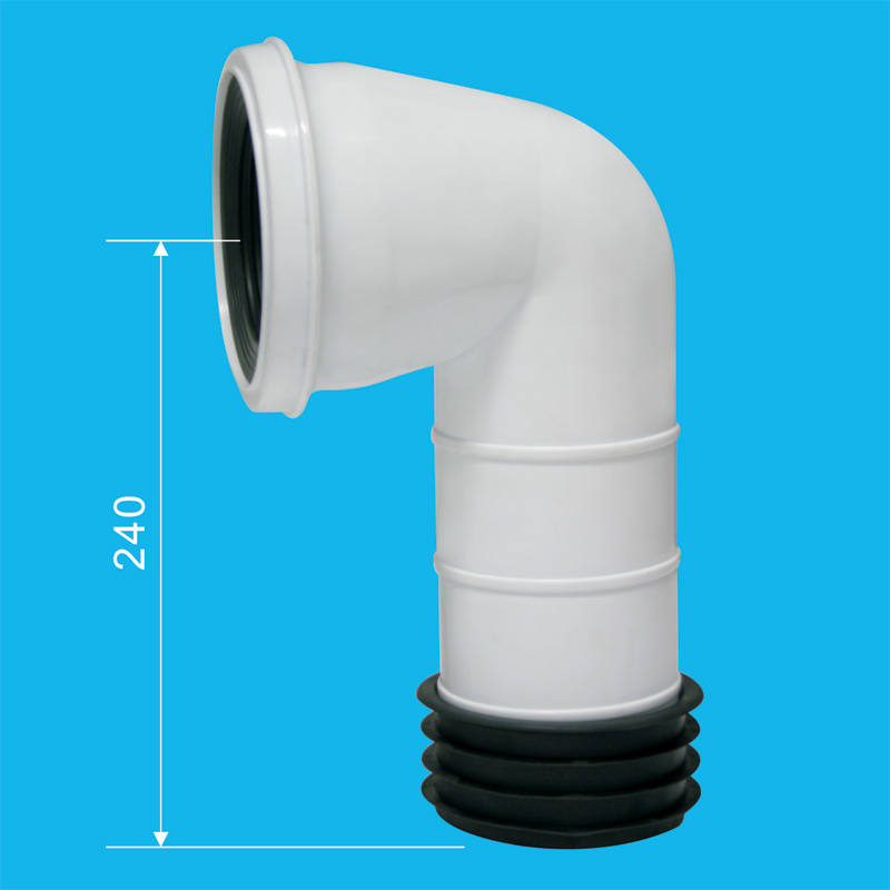 Toilet connection tube | Sanitary trade company