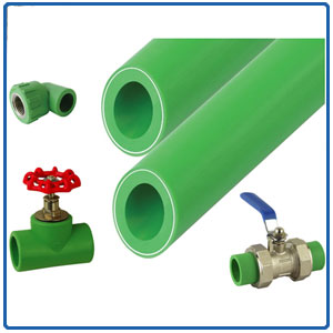 PPR pipes/fittings/valves