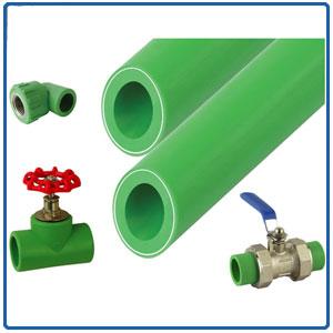 PPR pipes/fittings/valves